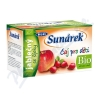 Sunárek čaj dětský jablečný se šípky 20 x 1. 5g