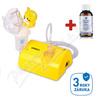 Inhalátor kompres.  OMRON C801-KD dětský lehký tich