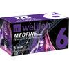 Jehly WELLION MEDFINE PLUS 31Gx6mm 100ks inz. pera
