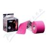 ARES kinesiology tape 5cm x 5m růžová