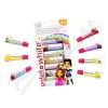 EDEL+WHITE Ovocné zubní pasty pro děti 7ks x 9. 4ml