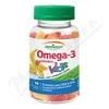 JAMIESON Omega-3 Kids Gummies želatin. pastil. 60ks