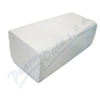 Ručníky papír. sklád.  ZZ bílé 1vrstvé 2x250ks
