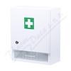 Lékárnička-nástěnná dřevěná 40x32x17-prázdná bílá