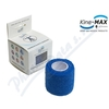 KineMAX Cohesive elast. samofix.  2. 5cmx4. 5m modré
