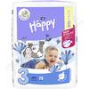 Happy Midi dětské pleny 72ks