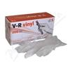 Rukavice vinylové V-R vel. S bezprašné 200ks