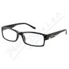 Brýle čtecí +3. 50 FLEX černé s kov. doplňkem