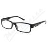 Brýle čtecí +3. 00 FLEX černé s kov. doplňkem