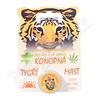 Konopná tygří mast 4. 5 g