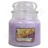 YANKEE CANDLE vonná svíce Lemon Lavander 411g