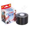 Kinezio. tejp. páska WUNDmed černá 5cmx5m 1ks