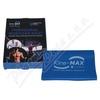 KineMAX Resistance band Posilovací guma modrá 2m