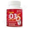 Vitamín D3 400IU pro děti - jahoda tbl. 90