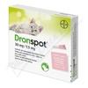 Dronspot 30mg-7.5mg malé kočky spot-on 2x0.35ml