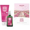 WELEDA SET Růžová pěsticí péče
