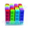 Dávkovač na léky barevný denní - 1 ks