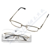 Brýle čtecí American Way +3. 50 šedé-hnědé v etui