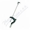 Hůl duralová H81-1 č. 2 90cm rovná-zahnutá rukojeť