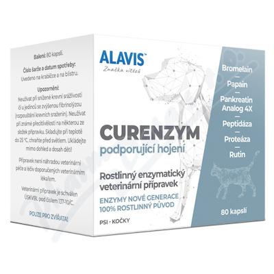 ALAVIS Curenzym Enzymoterapie a.u.v.cps.80