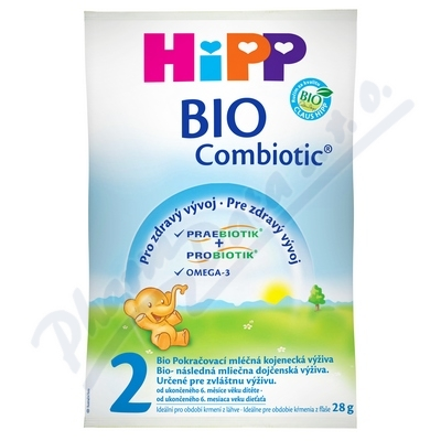 HiPP MLÉKO HiPP 2 BIO Combiotik vzorek 28g