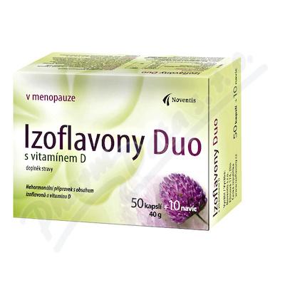 Izoflavony Duo s vitamínem D cps.50+10 navíc