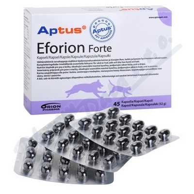 Aptus Eforion Forte 45cps. (kůže a srst)
