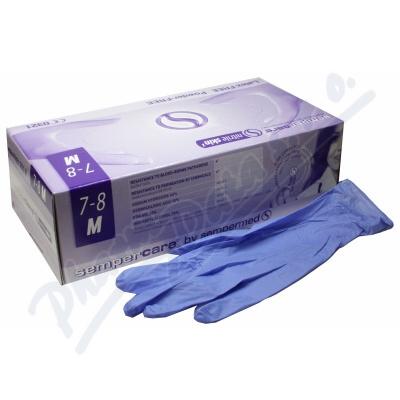 Rukavice vyš. Sempercare Nitril Skin2 M-200ks b.p.