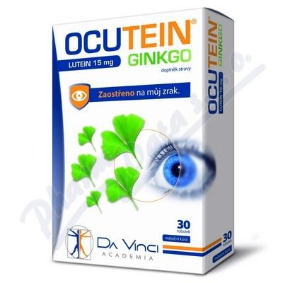 Ocutein Ginkgo 45mg+Lutein 15mg Da Vinci tob.30