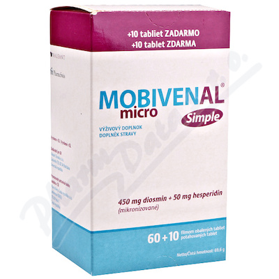 Mobivenal Micro Simple tbl.60+10