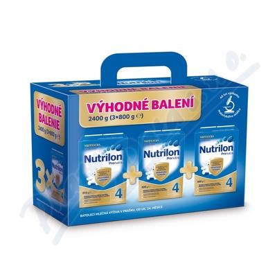 Nutrilon 4 Pronutra 3x800g Výhodné balení