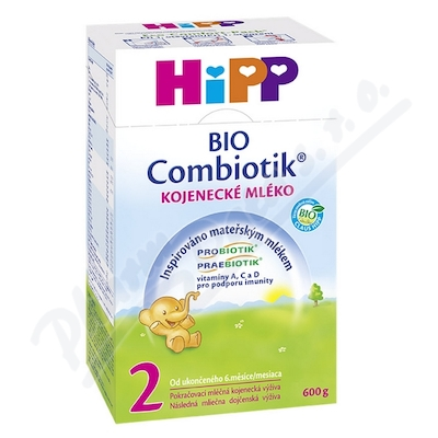 HiPP MLÉKO HiPP 2 BIO Combiotik 4x600g