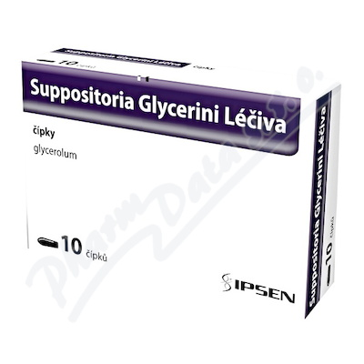 Suppositoria Glycerini Léčiva 2.06g sup.10