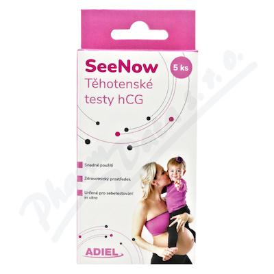 Adiel SeeNow Těhotenské testy hCG 5ks