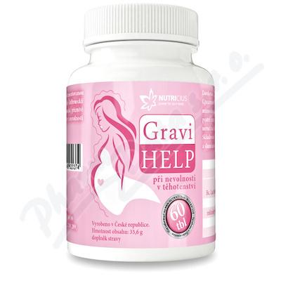 GraviHELP - při nevolnosti v těhotenství tbl.60
