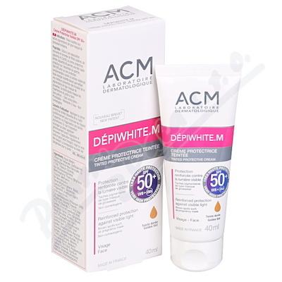 DEPIWHITE.M tinted SPF 50+ tónovaný krém 40 ml