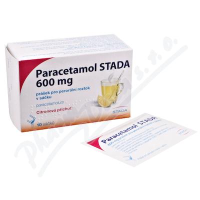 Paracetamol Stada 600mg hot drink por.plv.s.scc.10
