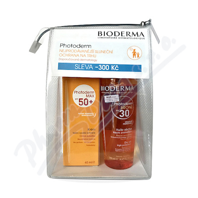BIODERMA Photo.BRONZ OlejSPF30 200ml+MAX Krém 40ml