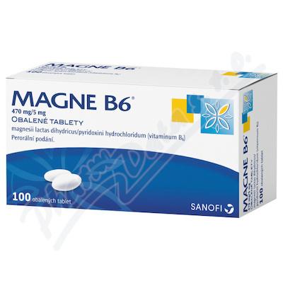 Magne B6 470mg-5mg tbl.obd.100