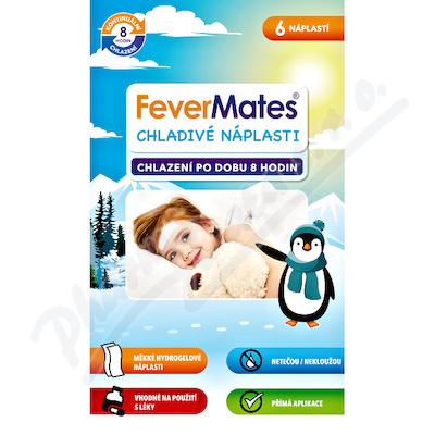 FeverMates chladivé náplasti pro děti 6ks
