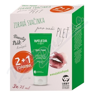 WELEDA SET Skin Food Multipack 2+1