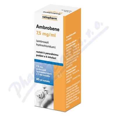 Ambrobene sol.40ml 7.5mg-ml
