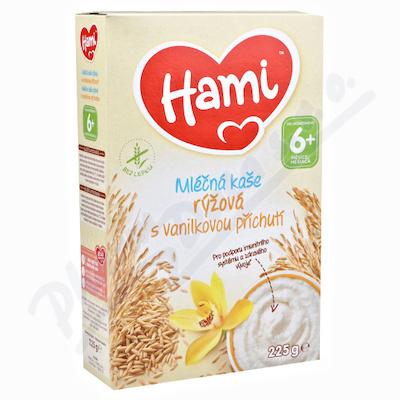 Hami ml.kaše rýžová s vanilkovou příchutí 225g 6M