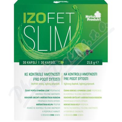 Naturprodukt Izofet Slim kontrola hmotnosti cps.30