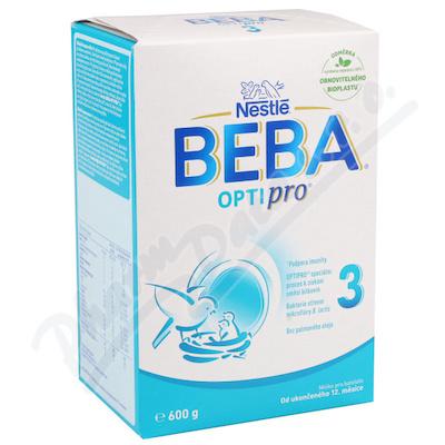 NESTLÉ Beba 3 PRO-OPTIPRO 600g