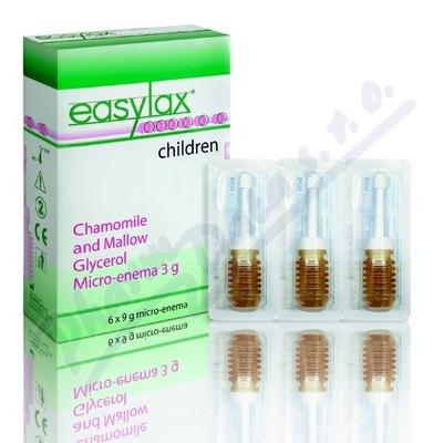 EASYLAX-dětské projímadlo,ampule 6x3g
