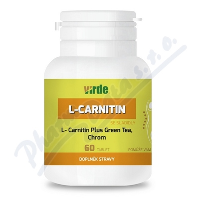 L-Carnitin Plus Green Tea + Chrom tbl.60