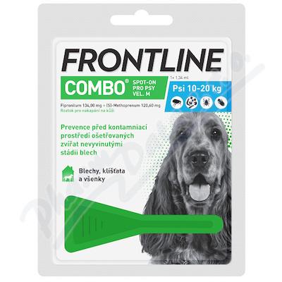 Frontline Combo Spot on Dog M pipeta 1x1.34ml