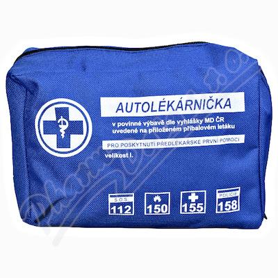 Autolékárnička textil vyhl.č.206-2018 Steriwund